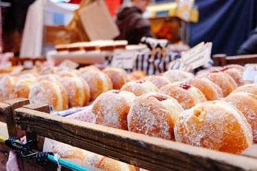 May Two-Four Donuts Food