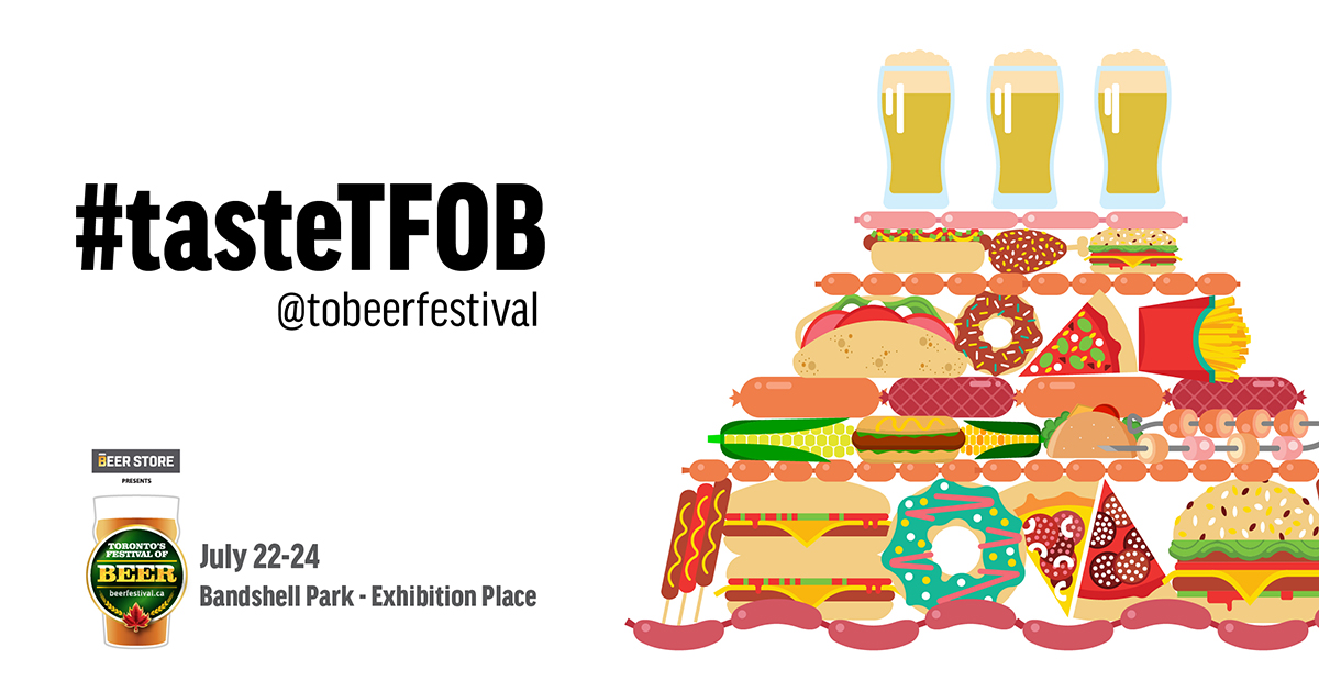 Toronto's Festival of Beer Food Line Up