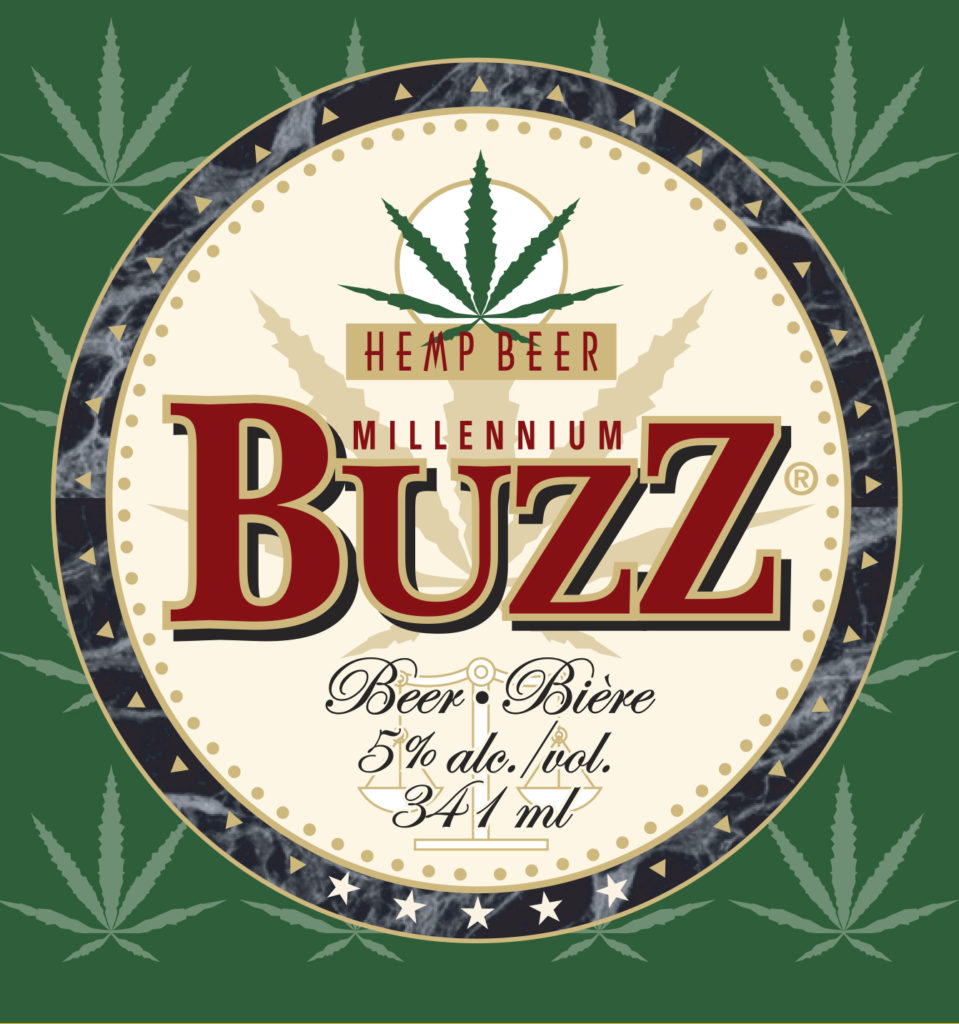 Millennium Buzz Hemp Beer